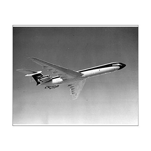 10x8 Print of Vickers Super VC10 G-ASGO in BOAC markings (9894733)