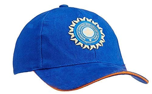 1cd90e77fb3 Image Unavailable. Image not available for. Colour  SHVAS Men s Cotton Sports  Casual Cricket Cap Team India ODI