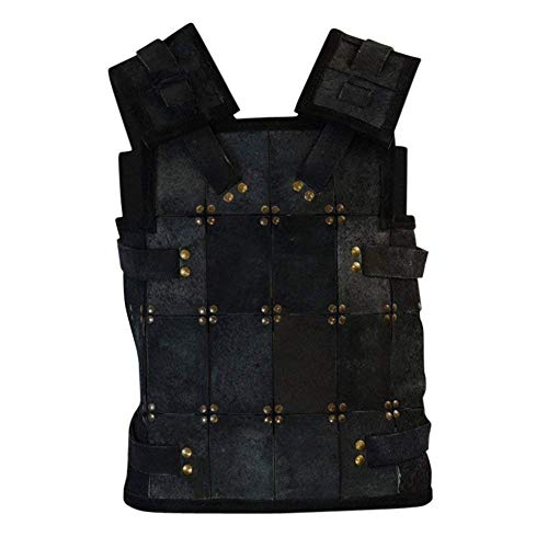Epic Armoury Armor Venue - RFB Fighter Leather Armor - Black Large ()