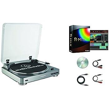 Amazon Com Audio Technica At Lp60 Usb R Mix Turntable