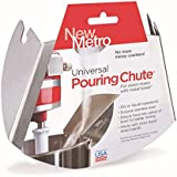 New Metro Design Universal Pouring Chute For Stand Mixer, Stainless Steel