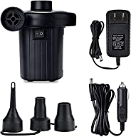 Portable Electric Air Pump for Home and car for Air Mattress Inflatables Pool Floats Water Toy Raft Bed Boat P