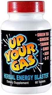 Up Your Gas Energy Blaster Tablets, 60-Count Bottles Pack of 2