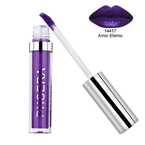 Big promotion ! Matte Liquid Lipstick Hosamtel Sexy Waterproof Long Lasting Durable Moisturizing Lip Stain Kiss-proof Lip Gloss Makeup Tool (K) -