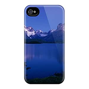 Durable Lake Pehoe At Night Chile Back Cases/covers For Iphone 6