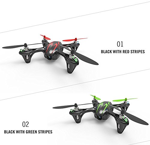 Hubsan X4 (H107C) 4 Channel 2.4GHz RC Quad Copter with Camera - Red/Black, Red/Black (Discontinued by manufacturer)