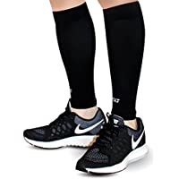 Calf Compression Sleeves for Shin Splints, Leg Pain & Support - Increases Blood Circulation to Reduce Leg Cramps & Muscle Aches - Ultimate Comfort & Breathability - 1 Pair