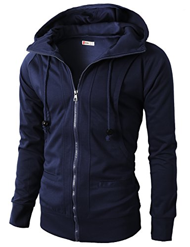 H2H Men's Casual Slim Fit Long Sleeve Henley T-Shirts Short Sleeve Raglan Baseball Shirts NAVY US 2XL/Asia 4XL (KMOHOL019) ()
