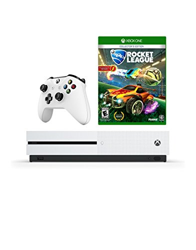Microsoft Xbox One S 1 TB Console with ROCKET LEAGUE and Wireless Controller Choose the Must-Play Games and More