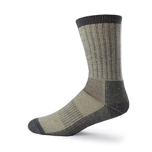 Minus33 Merino Wool Day Hiker Sock, Gray, Small (8' New Zealand Wool)