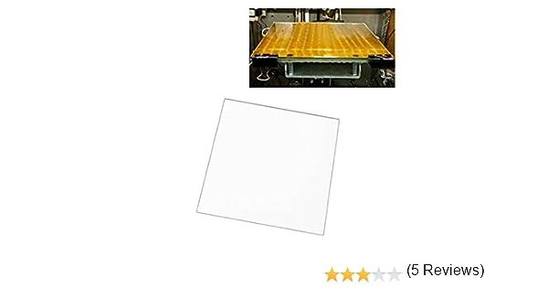 UEETEK Impresora 3D MK2 MK3 Cama calentada placa de vidrio de ...