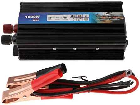 D DOLITY 1000W DC 12V zu AC 220V Spannungswandler Stromwandler Wechselrichter Solar Inverter Wandler