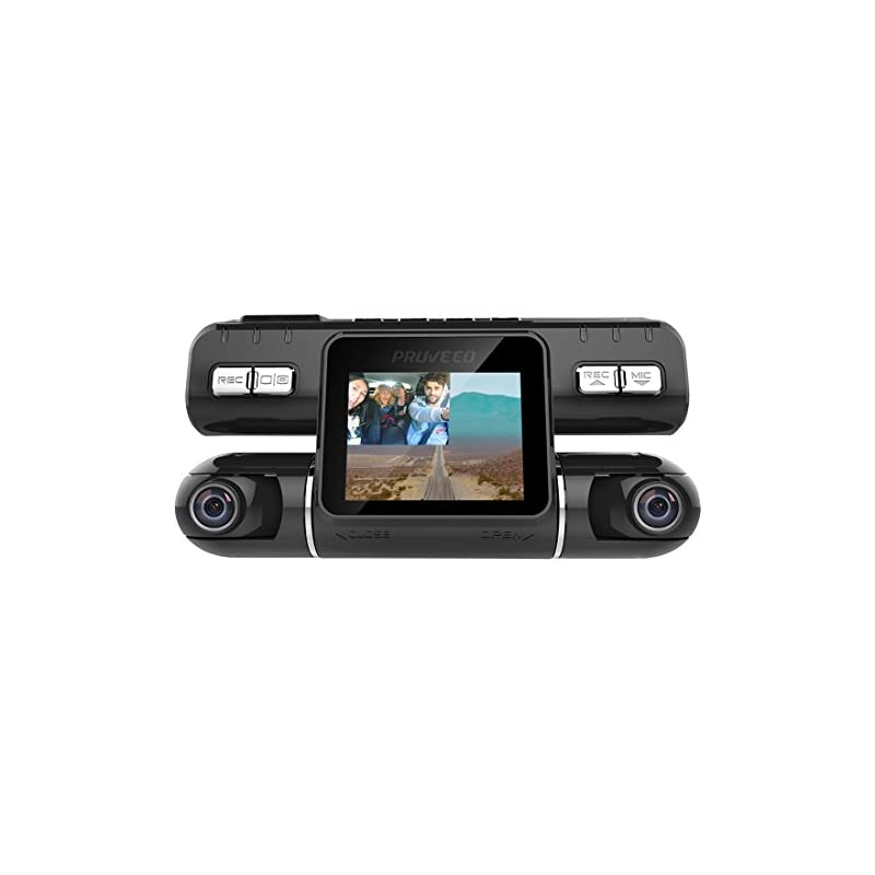 Pruveeo MX2 Dash Cam Front and Rear Dual