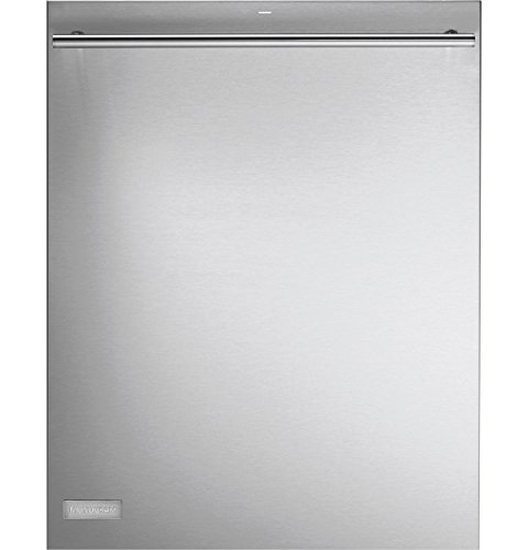 GE Monogram ZDT800SSFSS Fully Integrated Dishwasher with 16-Place Settings, 7 Wash Cycles, 11 Options, 102 Cleaning Jets, Max Dry System, Sensor Clean, LCD Display and 42 dBA: Stainless Steel, European Handle by GE