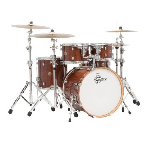 Gretsch Drums Catalina Maple CM1-E605-WG 5-Piece Drum Shell Pack, Walnut ()