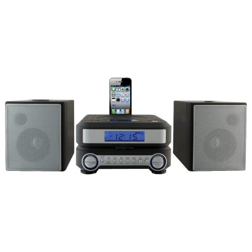 iLive IHP211B Compact CD Player Stereo Home Music System wit
