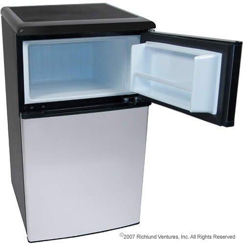 ft fridge freezer stainless steel edgestar appliances