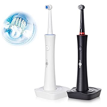 Bureze PROORAL - Cepillo de Dientes eléctrico Giratorio de 360 Grados para Adultos con Carga inductiva e higiene bucal: Amazon.es: Hogar
