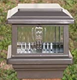Titan 12V Deck Light, 4'' Post, 1.6W LED, Bronze