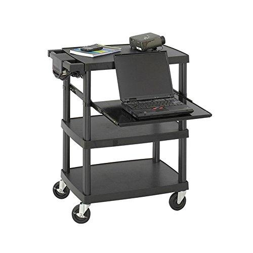 Multimedia Projector Cart, Black Electronics, Accessories, (Safco Computer Multimedia)