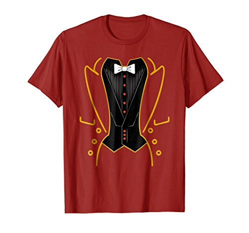 Ringmaster Shirt Circus Costume For Men Women Kids ()