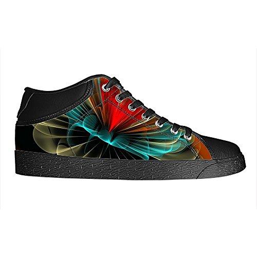 Dalliy Custom 3D Format Mens Canvas Shoes Schuhe Lace-Up High-Top Sneakers Segeltuchschuhe Leinwand-Schuh-Turnschuhe D