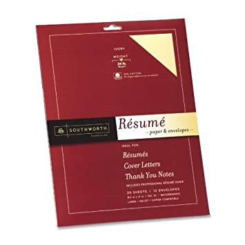 Southworth resume kits