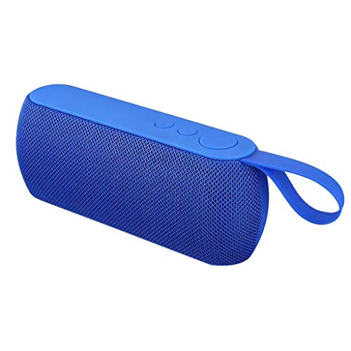 NOMENI Portable Bluetooth Speaker Fabric Bluetooth Speaker, can be Inserted into The U Disk, Audio Cable and Memory Card can be Carried with a Lanyard can be Hung on The Bicycle