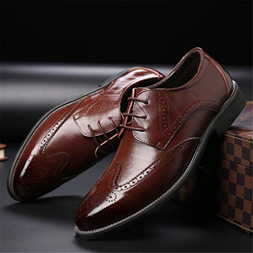 Scarpe Marrone Lace Estate Oxford Abbigliamento Casual Accento Uomo Up 8WnqR54Z