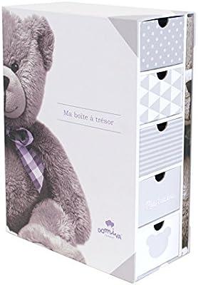 Poyetmotte My Little Bear - Caja del tesoro, 22,5 x 31 cm: Amazon.es: Bebé