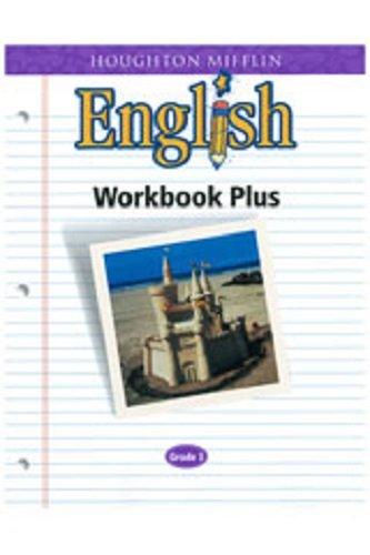 Houghton Mifflin English Workbook Plus Grade 3 Houghton Mifflin 9780618090624 Amazon Com Books
