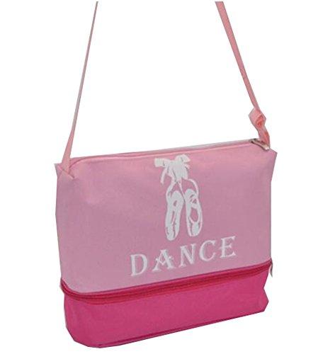 George Jimmy Fashionable Dance Duffle Bags Girls Dance Bag Sport Travel Bag, B by George Jimmy