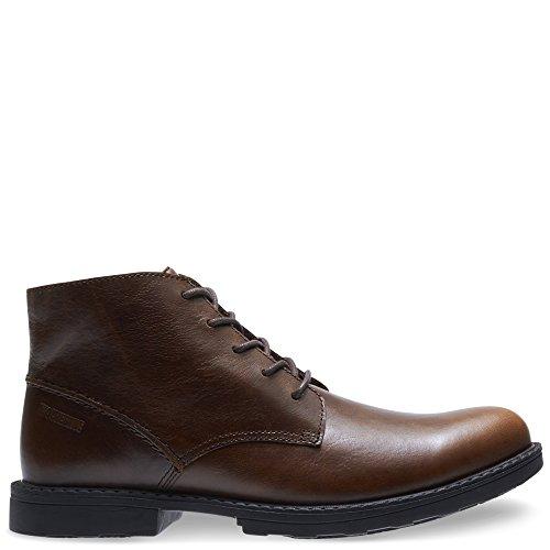 - Wolverine Men's Bedford Steel-Toe Chukka SR Industrial Boot, Brown, 9 M US