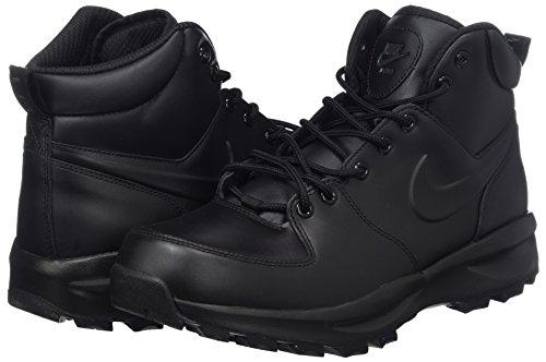 271a1dd95fde0 Nike Men's Manoa Leather Black/Black/Black Boot 10.5 Men US