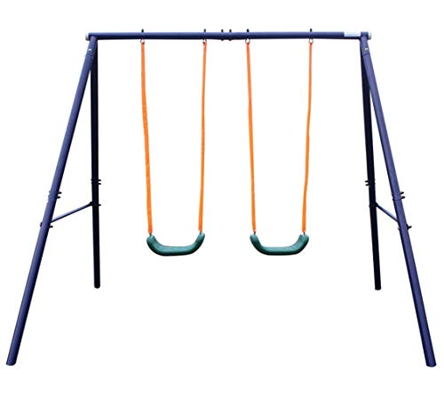 (Movement God Metal A-Frame Two Seat Swing)