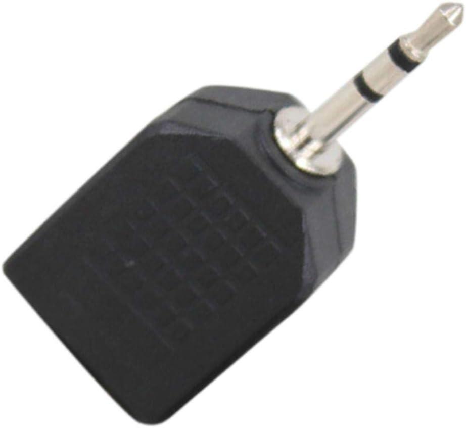 Arichtop 5 10PCS 3,5 Millimetri Forma Cuffia Auricolare sdoppiatore Cavo Adattatore Jack Maschio di Doppio Femminile del connettore