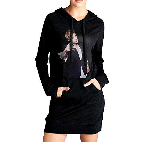 Womens Justin Bieber Hoodie Black Long Sleeve Sweatshirt ...