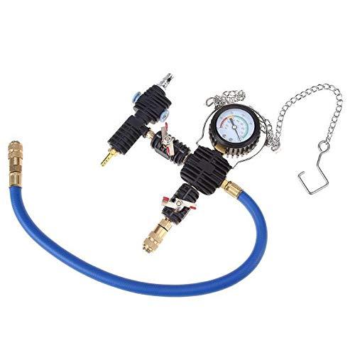 XuBa Purge + Refill Tool Kit Universal Radiator Vacuum Cooling Pump System No Bleeding by XuBa (Image #6)