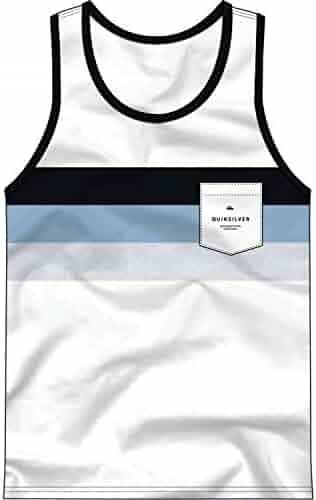e1f848c6b3c61 Quiksilver Men s Peaceful Progression Tank Top Tee Shirt