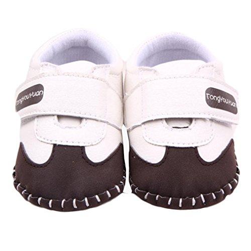 Transer ,  Baby, Jungen Baby Mädchen Unisex Babys Durchgängies Plateau Sandalen mit Keilabsatz Coffee