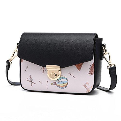 cien D ocio bolsa de mini chica vueltas Bolso bandolera impreso sencilla hombro de A Bolsa lindo estudiante Exquisito de Moda CXqAWHwZ