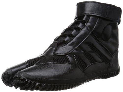 Marugo Tabi Boots Ninja Shoes Jikatabi (Outdoor tabi) Sports Jog Size 27.0 cm (US Size 9) Black for $<!--$64.95-->