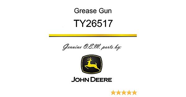 Pistol Grip Grease Gun Fits John Deere TY26517