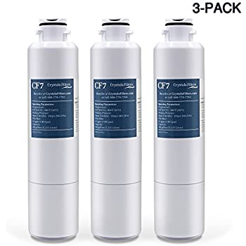 Samsung DA29-00020B Refrigerator Water Filter Compatible for Samsung DA29-00020B, HAF-CIN/EXP, Kenmore 46-9101 by Crystala Filters, Pack of 3
