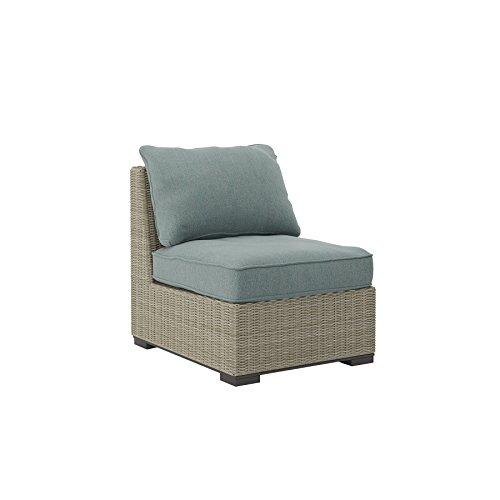 Cheap  Ashley Furniture Signature Design - Silent Brook Outdoor Armless Chair woth Cushion..