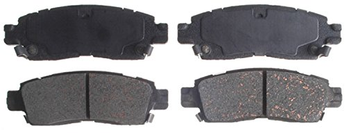 ACDelco 14D883CH Advantage Ceramic Rear Disc Brake Pad Set with Hardware ()