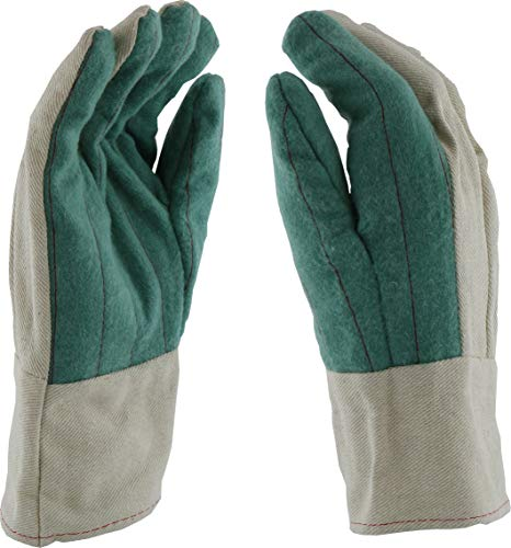 West Chester BG42SWSJI Standard Cotton Hot Mills Glove, XL, Green (Pack of ()