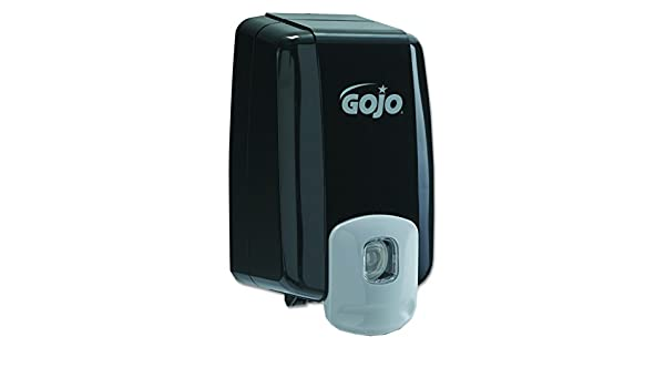 GOJO 2235 NXT dispensador de capacidad máxima NXT 2000 ml, montaje en pared, color negro: Amazon.es: Amazon.es