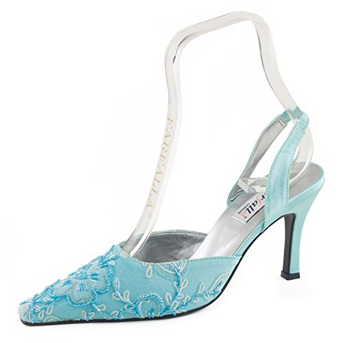Farfalla Luxury Shoe Blue coKCnJuA