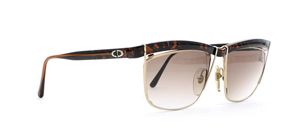 Amazon.com: Christian Dior 2552 90 Negro y café Authentic ...